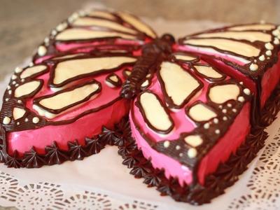 Tarta Mariposa de Cumpleaños - Butterfly birthday cake