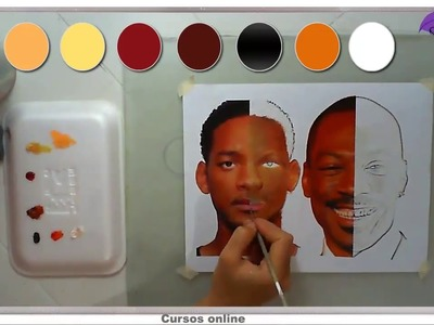 Tips sencillos para colorear Un Retrato con Lápices de Colores y Pintura al Óleo