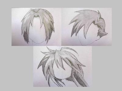 TUTORIAL | Como dibujar cabello manga a lápiz | Selbor