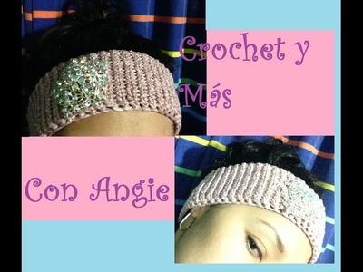 Banda o Diadema a Crochet (ideal para principiantes)