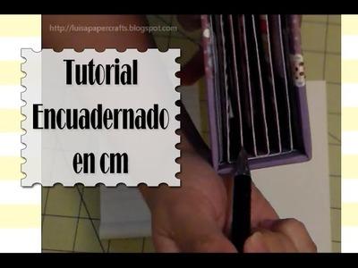 Cómo aplicar la Encuadernación Stack the Deck en cm | Luisa PaperCrafts