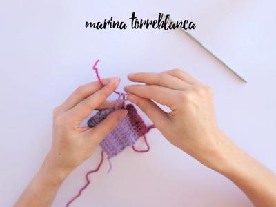 Cómo cambiar de color a crochet (¡correctamente!)