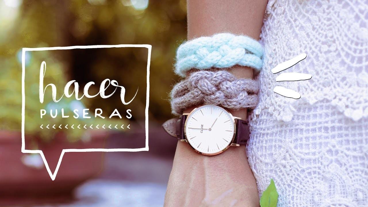 ♥  DIY REGALO PARA SAN VALENTIN | ¡COMO HACER DIY PULSERAS DE HILO!  ♥ Alejandra's Styles