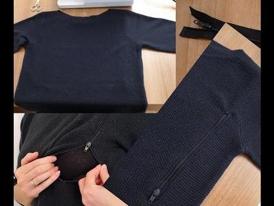 DIY Tutorial Lactancia Adaptación Vestido de Punto