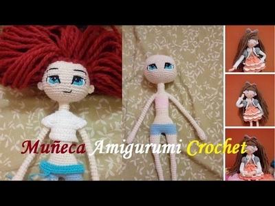 Muñeca Articulable a Crochet - Parte 1: Cuerpo Base