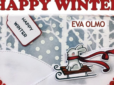 Tarjeta: Happy Winter