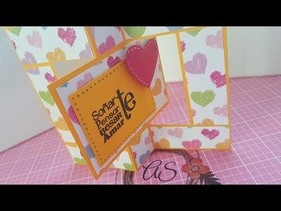 Tarjeta san valentin (Scrapbook)
