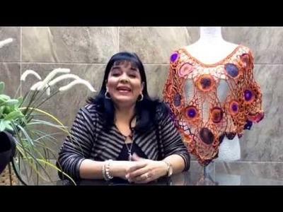 TEJE CAPITA ERIKA - Crochet fácil y rápida - Yo Tejo con LAURA CEPEDA