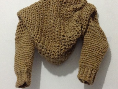 Torera a crochet muy fáciL