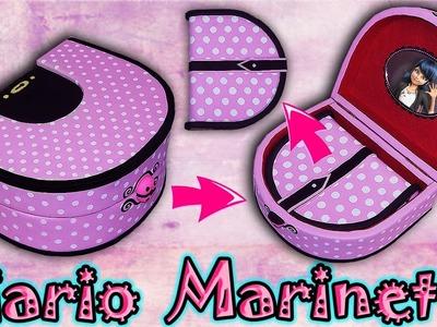 ♥ Tutorial: Diario con caja de Marinette (Miraculous Ladybug) DIY ♥