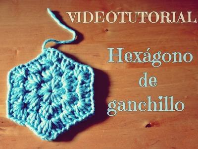 TUTORIAL HEXÁGONO DE GANCHILLO
