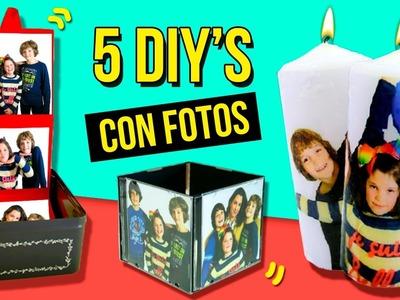 5 REGALOS FÁCILES Y BONITOS para SAN VALENTIN * MANUALIDADES DIY's con FOTOS