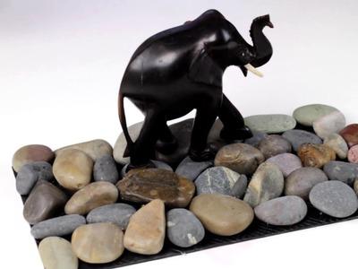 Alfombra de Piedras Manualidades - Cómo hacer una alfombra de piedras