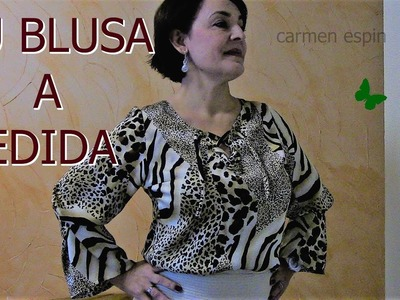 BLUSA DE SEDA:DIY