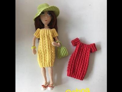 Bolso muñeca Victoria amigurumi By Petus