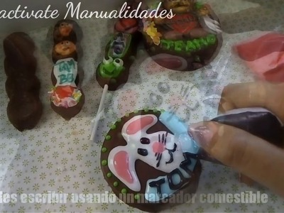 BUBULUBUS DECORADOS.CHOCOLATES DECORADOS.MANUALIDADES 14 DE FEBRERO DIA DEL AMOR Y AMISTAD
