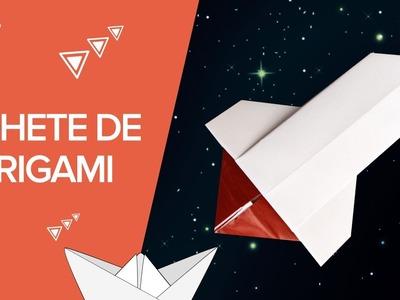 Cohete de papel | Manualidades de origami
