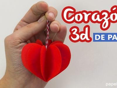 Corazones de papel 3D - Paper hearts
