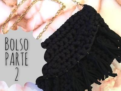 DIY Bolso fácil de trapillo Part.2.Handmade bag!