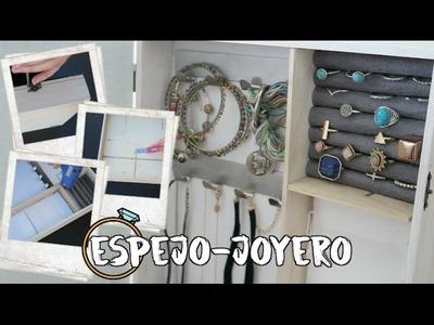 ESPEJO-JOYERO SORPRESA! Hazlo tu mismo!!! DIY IDEA REGALO | Vikguirao