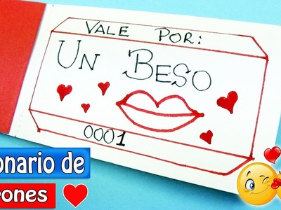 Ideas San Valentin #2 [Talonario de cupones] Ecobrisa DIY