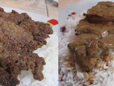 RECETA: Hígado Frito 2 recetas a elegir   (comida peruana)