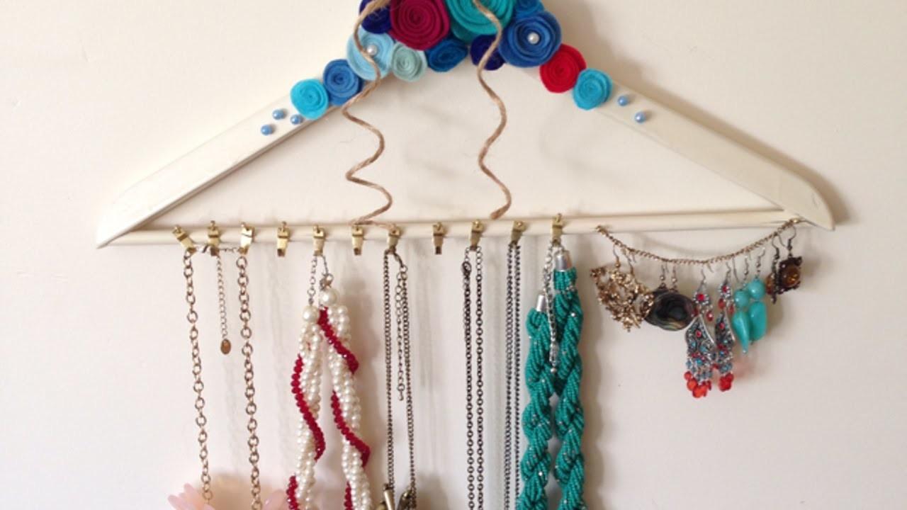 Como hacer un bonito perchero para joyas - Hazlo tu Mismo Estilo - Guidecentral