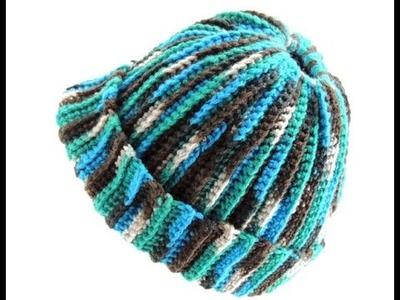 Crochet: Gorro Ana (con Apertura para el pelo)