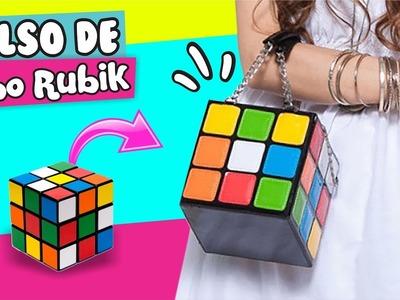 DIY ★ CONVIERTE un Cubo de Rubik en BOLSO!!!! ✔ ★ Así o Más Fácil ★