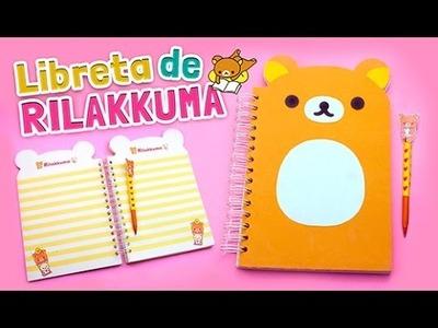 DIY KAWAII ☆ COMO HACER UNA LIBRETA DE RILAKKUMA (FÁCIL) ☆ REGRESO A CLASES l Fabbi Lee