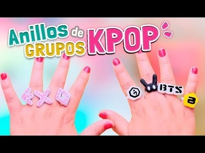 DIY KPOP ★ CÓMO HACER ANILLOS DE GRUPOS KPOP (TUTORIAL) + BTS.EXO.BigBang Giveaway l Fabbi Lee