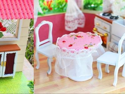 DIY Muebles para la casita de muñecas + Saludos