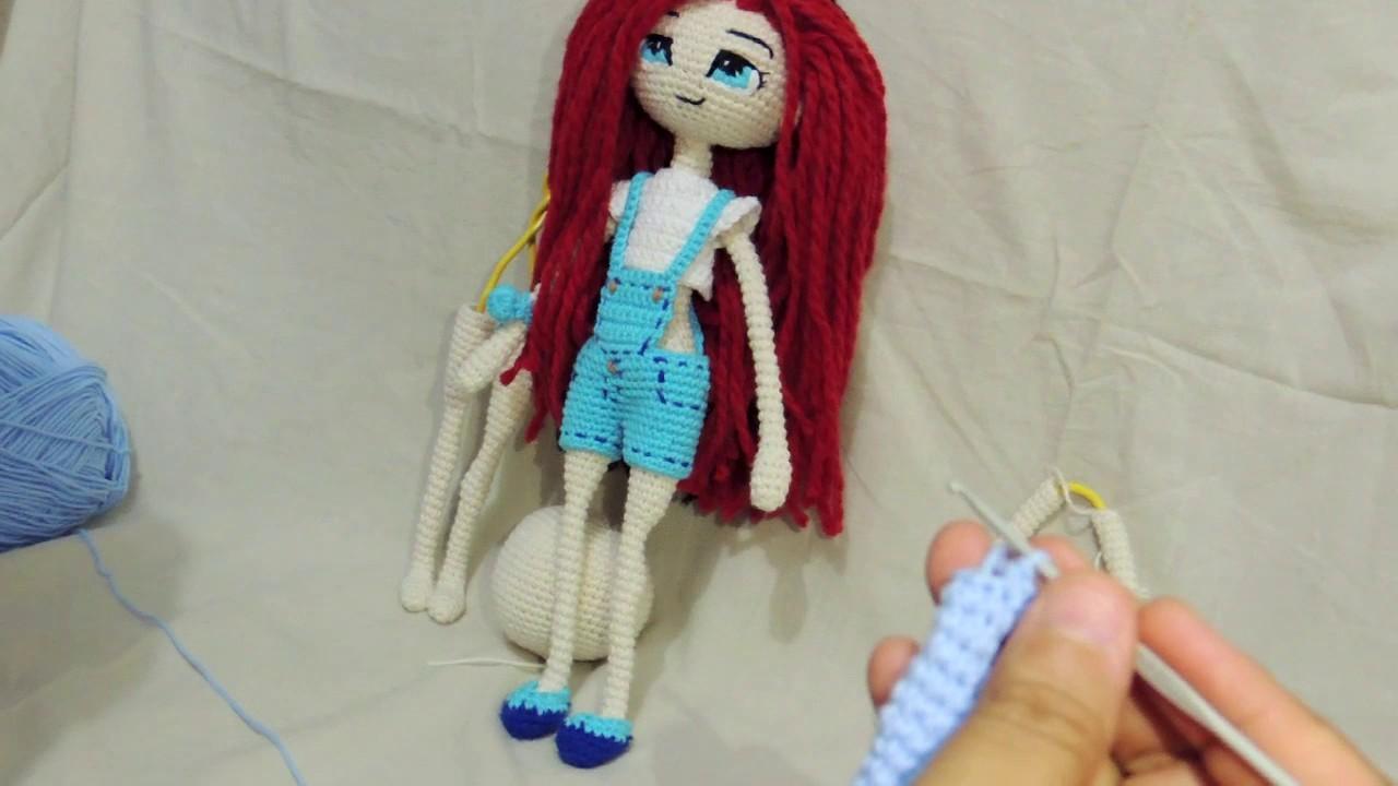 Muñeca Articulable a Crochet - Parte 4: Piernas