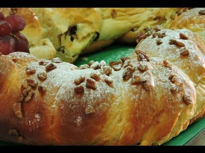 Rosca de Reyes de leche condensada.- LuzMa CyR.