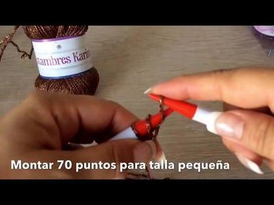 TEJE TORERITA VIENA - Tejida en gancho y agujas fácil y rápida - Tejiendo con LAURA CEPEDA