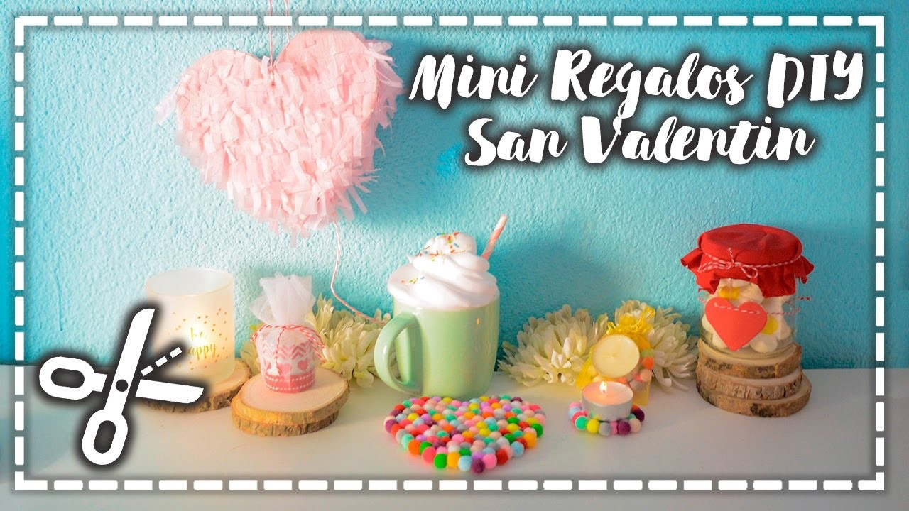 5 Mini Regalos DIY de San Valentín