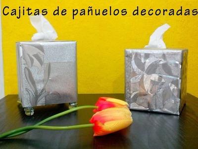 Decora tus Cajas de Pañuelos Desechables DIY