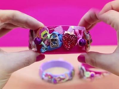 Manualidades para niños como hacer pulseras de SOY LUNA | Juguetes de Soy Luna en español