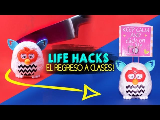 50 TIPS. LIFE HACKS PARA EL REGRESO A CLASES! | AKARI BEAUTY