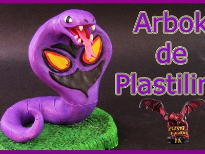 Como Hacer a Pokémon Arbok de Plastilina. How To Make Pokémon Arbok with Clay.Pokémon GO