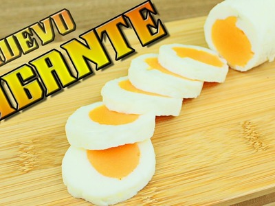 Como hacer un Huevo Cocido Gigante IMPRESIONANTE