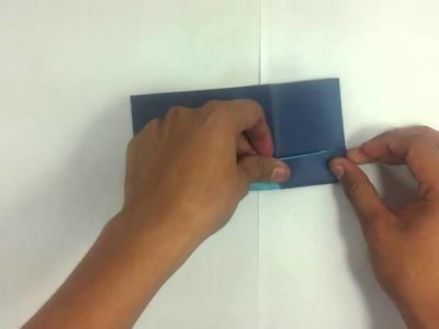 Hacer casa de origami - Juegos infantiles