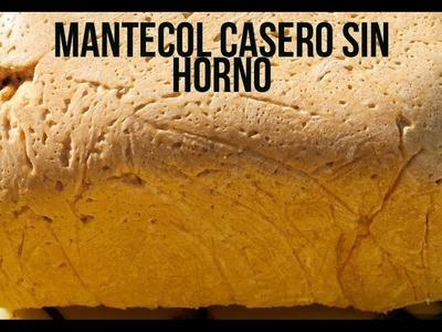 MANTECOL CASERO. TURRÓN BLANDO DE MANÍ