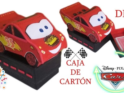 MANUALIDAD PARA NIÑO. CARS