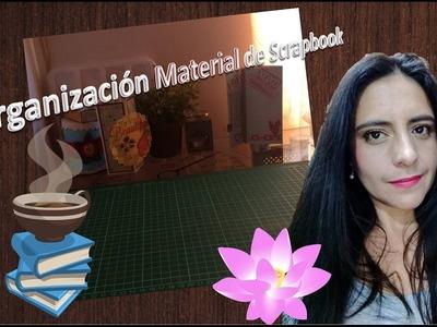 Organización material Scrapbook - mini scrapbook room tour (Colaboración)