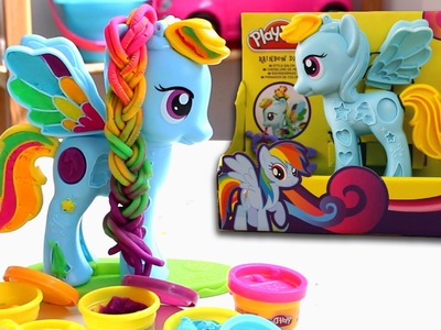 Rainbow Dash! My Little Pony de Play-Doh. Juguetes en Español.
