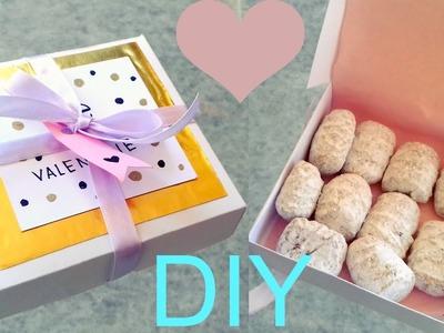 Una forma original de regalar galletas ♡ Detalles chiquitos ♡ San Valentín