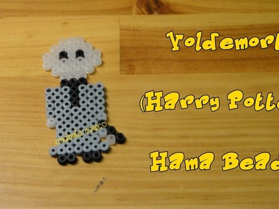 VOLDEMORT de hama beads pyssla perler beads HARRY POTTER