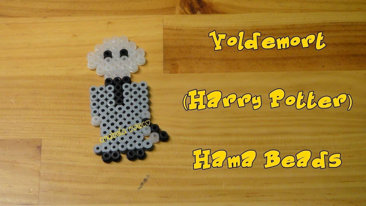 VOLDEMORT de hama beads pyssla perler beads HARRY POTTER