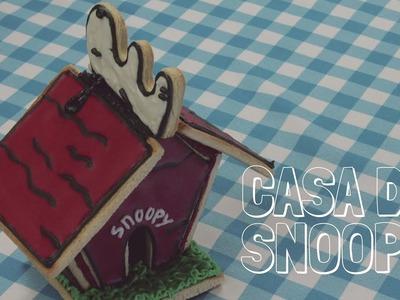 CASITA DE SNOOPY (HECHA DE GALLETAS) | PANQUE COCINES